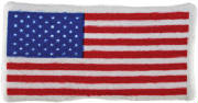 "5"" USA Flag Plush"