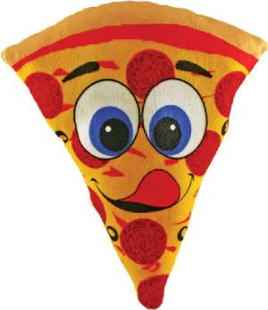 "9"" Pizza Plush"