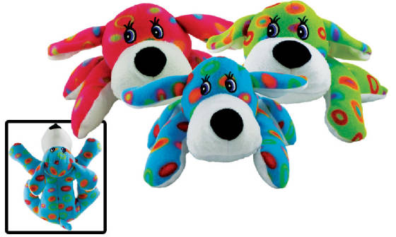"10"" Colorful Hound Dogs"