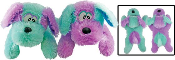 "17"" Purple Turquoise Dogs"
