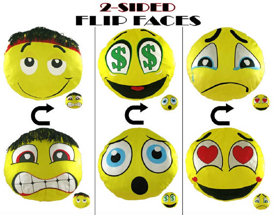 "14"" Flip Faces (Emoji)"