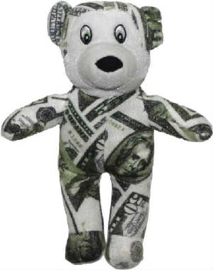 "9"" Money Bear"