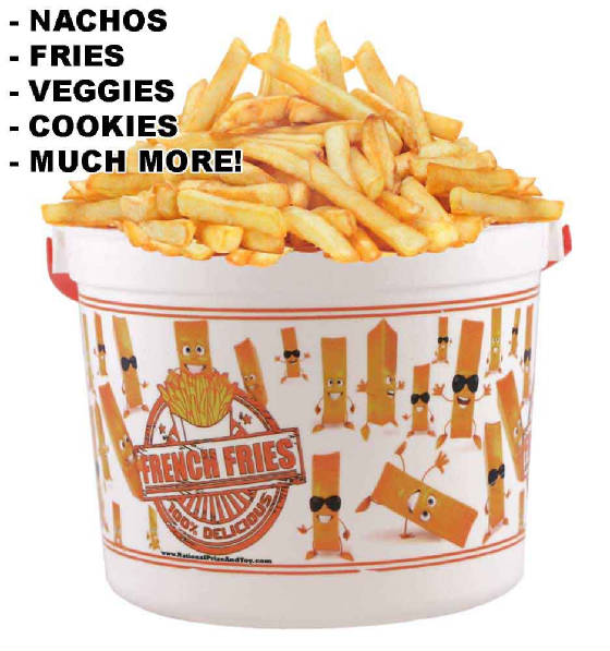 French Fry Bucket