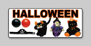 Halloween Plush and Toys