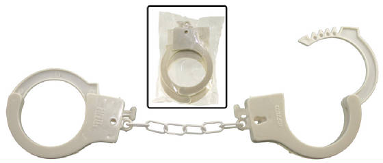 Plastic Toy Handcuffs