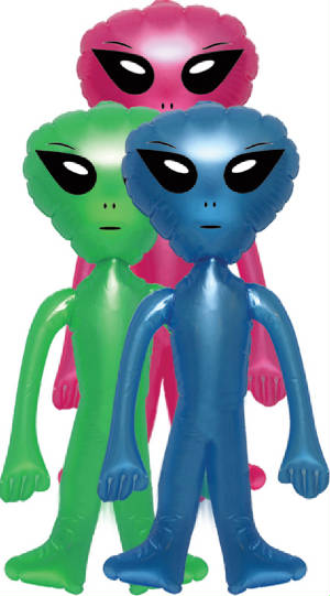 "30"" Inflate Alien"