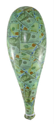 "20"" Inflate Money Bat"