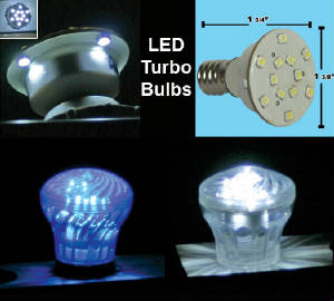 LED Turbo Bulbs