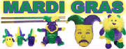Mardi Gras Plush and Toys