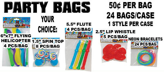 Party Toy Bags