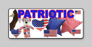 Patriotic USA Plush and Toys