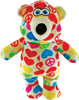 "11"" Heart/Peace Bear"