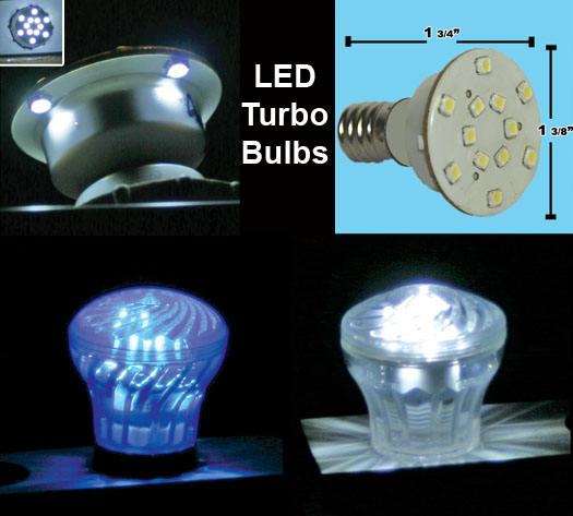 LED Turbo Replacement Bulbs