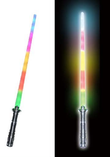 Multi-color Rainbow Light-up Sword